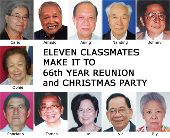 66th Anniversary Attendees